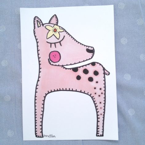 Juliste Bambi A4