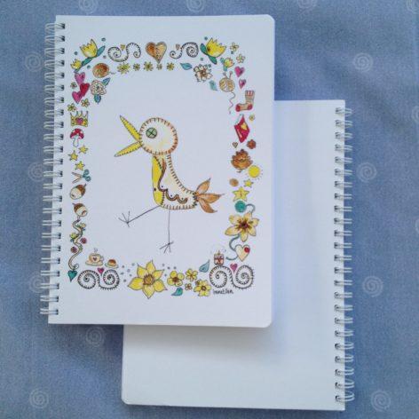 Muistikirja Lintu ja pieniä asioita
