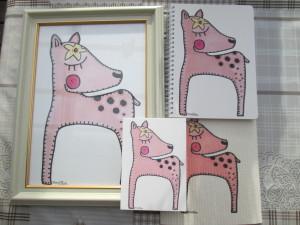 Bambi juliste kehystettynä. Muut Bambi tuotteet myydään erikseen. (Kehykset eivät ole myytävänä)