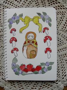 Maatuskan marjat ja sienet muistikirja