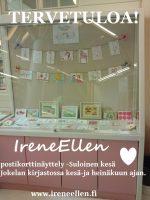 IreneEllen postikorttinäyttely 2015