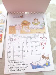 IreneEllen kalenteri kesäkuu