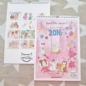 IreneEllen kalenteri 2016