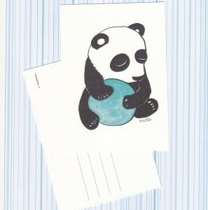 "Postikortti ""Panda"""