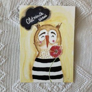 Olet minulle tärkeä postikortti
