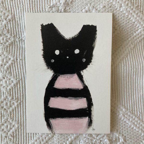 Kisuli kissanen postikortti