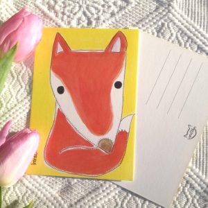 Kettu postikortti