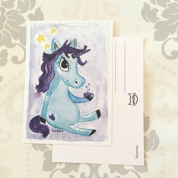 postikortti Yksisarvinen