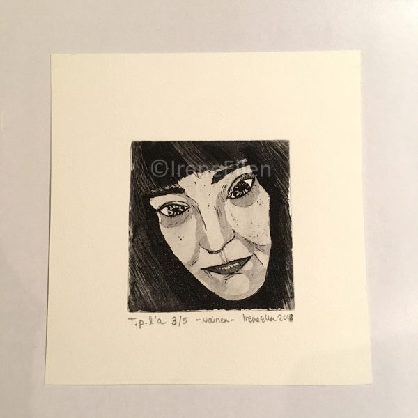 Grafiikka Nainen