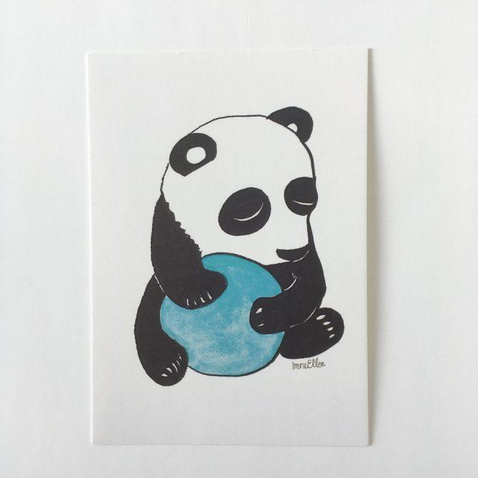 Panda postikortti