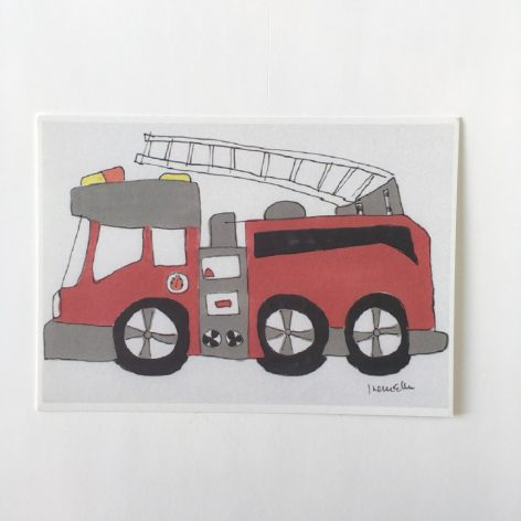 Paloauto postikortti