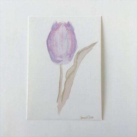 """""""Tulppaani"""" postikortti"""