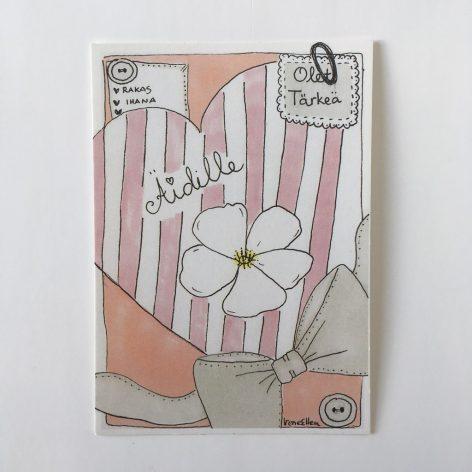 Äidille postikortti