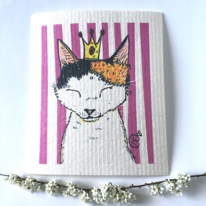 sieniliina Prinsessa kissa