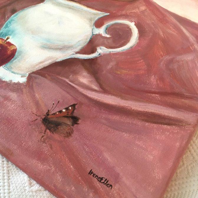 Perhosen eväsretki lähikuva