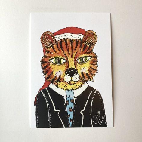 Herra tiikeri jouluna