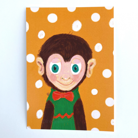 postikorti apina