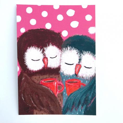 postikortti Olet tärkeä ystäväni