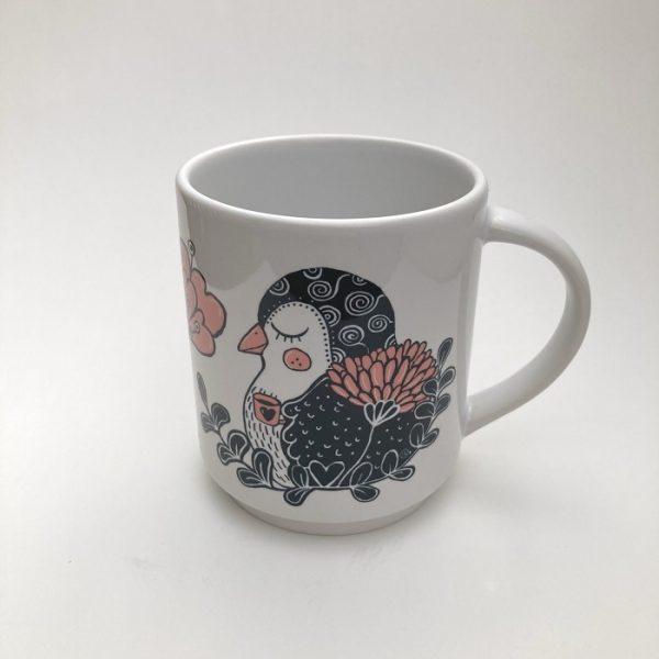 IreneEllen muki Ketun ja linnun kahvihetki (1)