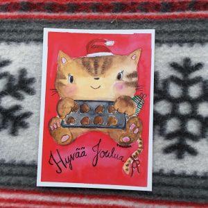Kissan joulutervehdys